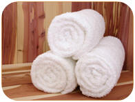Make sure you put plenty of towels down for your sauna in a far infrared sauna